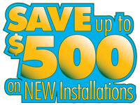 CRS Heating and cooling repairs and service - SAVE $500 on heating and cooling installations.