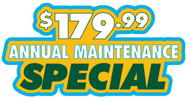 Home heating and cooling repairs and annual maintenance deals